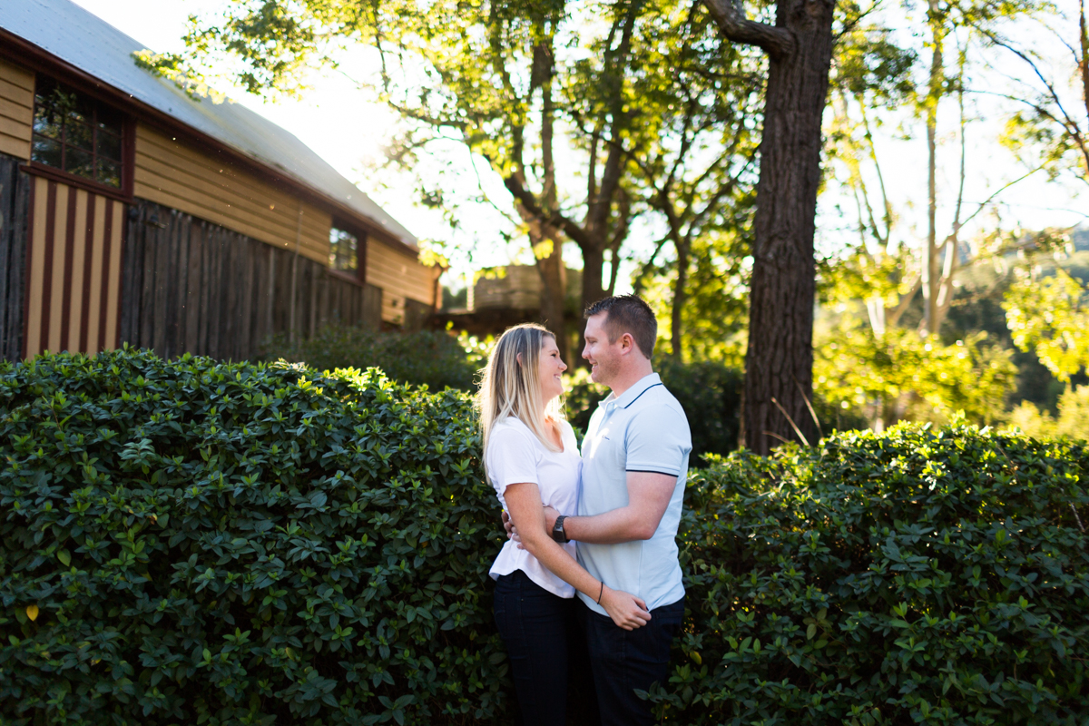 001_Gorgeous engaged couple in Wollombi with the best wedding photographer