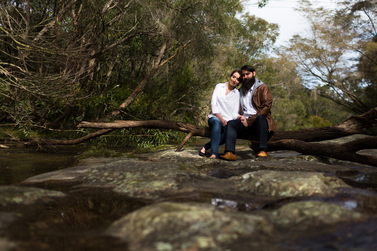009_somersby falls is the perfect spot for an awesome engagement shoot