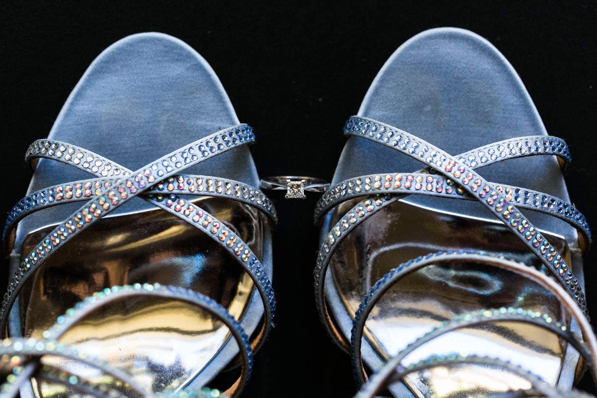 04_bride shoes and engagement ring
