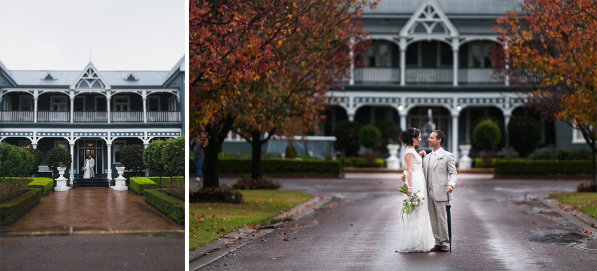 10_the best wedding photographer with vintage bride and groom at peppers convent on autum wedding day