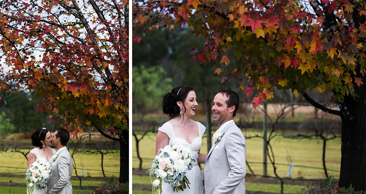4_hunter wedding photographer captures candid moment at peppers convent autumn wedding