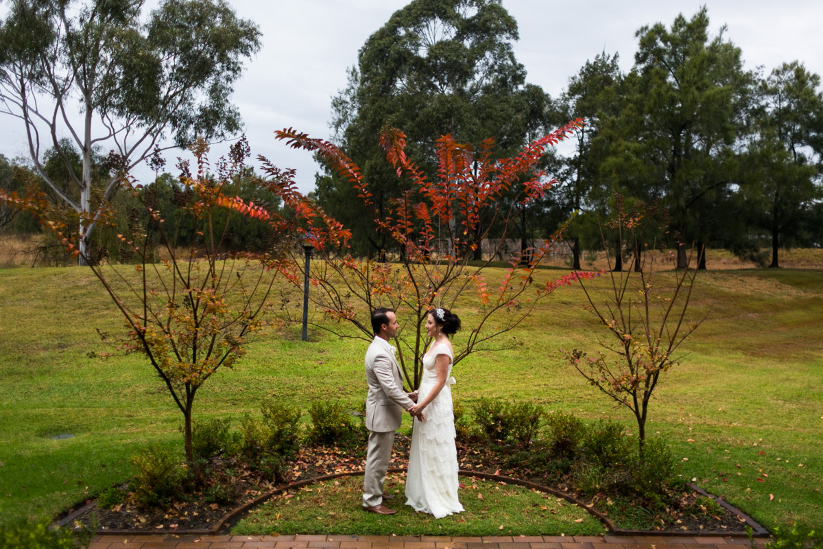 5_Autumn Wedding Photography at Peppers Convent with vintage bride
